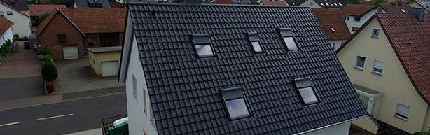 Neu eingebaute Dachfenster von Jordan Bedachungen