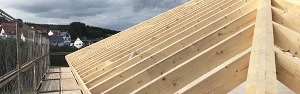 Dachstuhl Holz Dachdecker