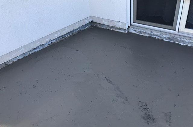 Balkonsanierung Untergrund