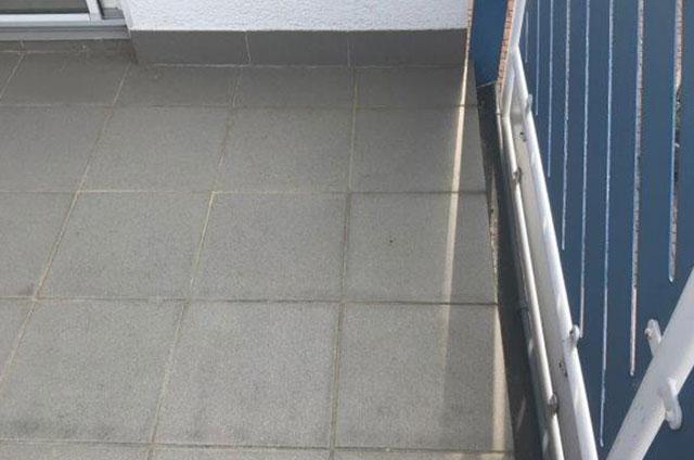 Balkonsanierung alte Fliesen
