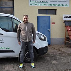 Schlosser Daniel Müller von Jordan Bedachungen